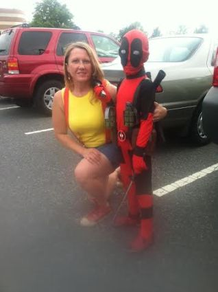 Misty and Kid Deadpool