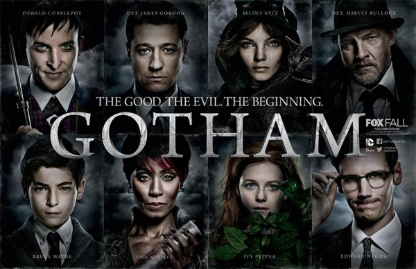 """""""I read somewhere that the term """"Gothic"""" might possibly be derived from the word """"Goetic"""" -- goes in the Greek -- meaning """"magical."""" I'm beginning to believe that. If architecture could be used to focus and direct spiritual power, then... then... could it also be used for evil? """" - Bruce Wayne"""