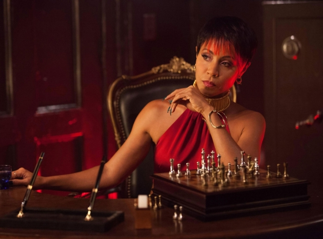 Finally introduced to the original character Fish Mooney played by Jada Pinkett Smith